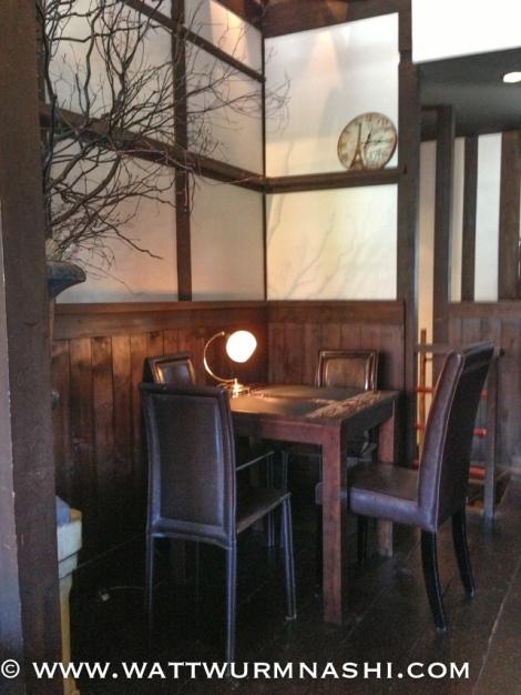 Sétrois' 2nd floor café space