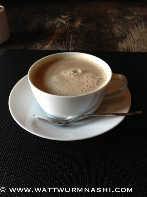 Latte for accompaniment